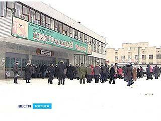 У здания Центрального рынка прошёл митинг предпринимателей