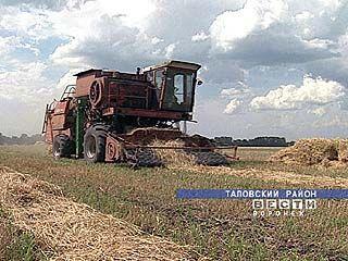 Убрано более 700 тысяч гектаров зерновых и зернобобовых