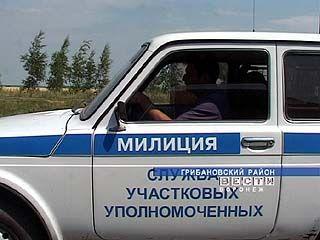 Участковые милиционеры несут вахту на пшеничных полях