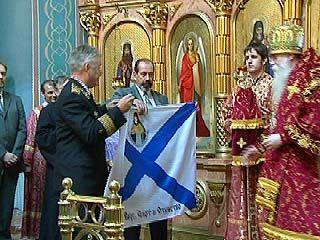 Участники Ушаковского Славянского хода приняли участие в литургии
