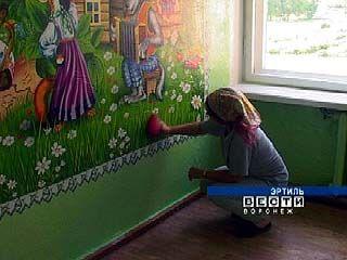 Ученики Эртиля трудятся на благо родной школы