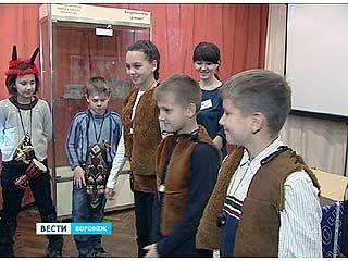 Ученики младших классов одной из воронежских школ путешествуют во времени