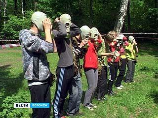 Ученики воронежских школ смогли потягаться в силе и ловкости
