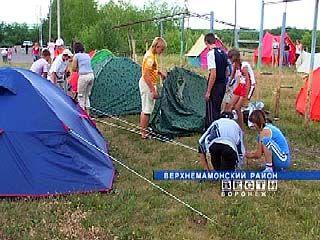 Ученики восьми школ Воронежской области проходят полевую практику