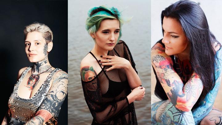 ТОП-8 воронежских красавиц, которые могли бы претендовать на роль «девушки с татуировкой дракона»