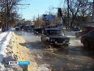 Улица Донбасская превратилась в реку
