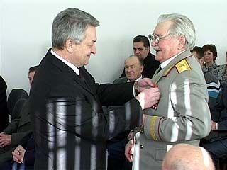 Управление ФСБ по Воронежской области чествует своих ветеранов