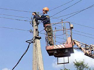 Ураган оставил несколько районов без электроснабжения