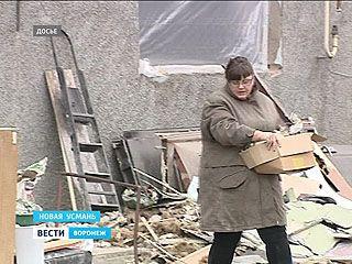 Ущерб на 3 миллиона. В Новой Усмани восстанавливают дом после взрыва