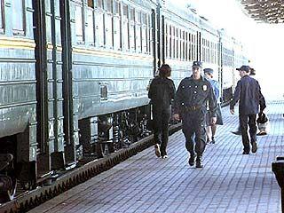 Усилена охрана воронежских вокзалов