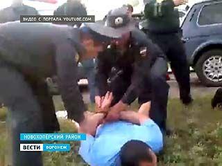 Установлены личности мужчин, которые напали на сотрудников полиции в Новохопёрском районе