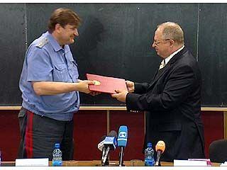 УВД и ВГАСУ подписали договор о сотрудничестве