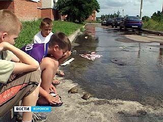 Уже месяц жители дома ╧9 по улице Урывского страдают из-за коммунальной аварии