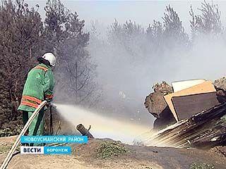 Уже сутки тлеет свалка в Сомово - справиться с возгоранием пока не удаётся