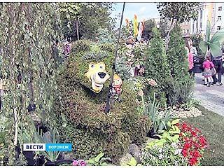 Уже во второй раз центр Воронежа превратился в город-сад