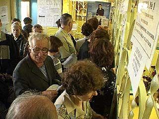 В 16-ом почтовом отделении на 50-ти квадратных метрах работают 23 сотрудника