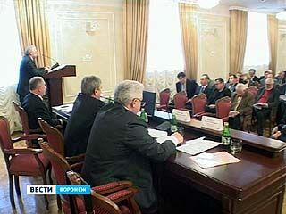 В администрации прошел совет директоров промышленных предприятий Воронежа