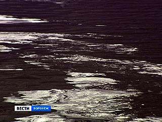 В акватории Воронежского водохранилища обнаружили нефтяное пятно