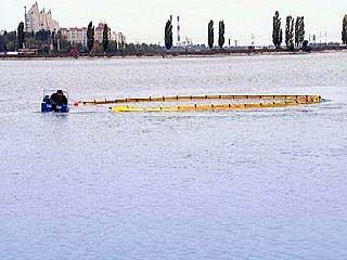 В акватории Воронежского водохранилища прошли учения МЧС