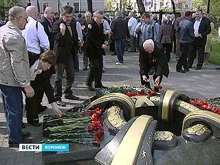 В аллеe Благовещенского собора вспоминали жертв Чернобыля