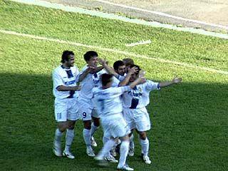 В Анне прошли соревнования по футболу