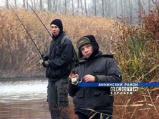 В Аннинском районе завершились областные соревнования по ловле окуня