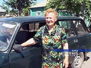 В Аннинском районе живет 86-летняя женщина-водитель