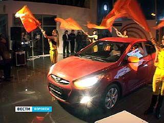 "В автосалоне ""Ринг Авто"" состоялась презентация ""Solaris"""