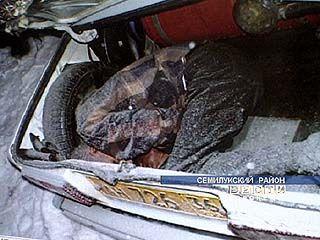 В багажнике автомобиля обнаружен труп