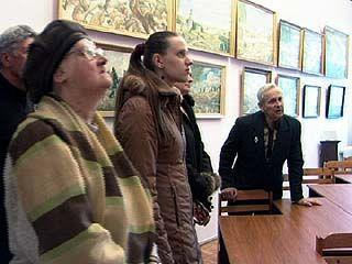 В Библиотеке-музее имени П. Пономарева открылась картинная галерея