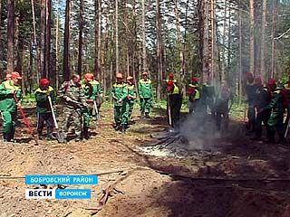 В Бобровском районе готовятся к пожарам