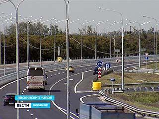 В Бобровском районе сдали в эксплуатацию дорожную развязку