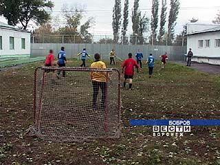 В Бобровской колонии заключенным позволили заниматься спортом