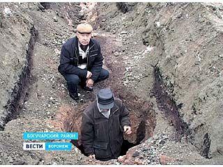В Богучарском гранитном карьере обнаружили захоронение древних аланов