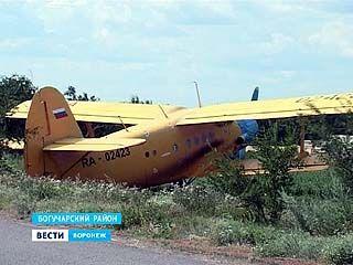 В Богучарском районе двое москвичей совершили несанкционированную посадку самолёта