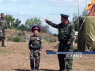 В Богучарском районе появилась школа молодого атамана