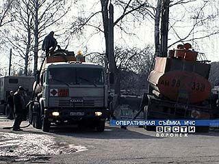 В Богучарском районе произошла утечка дизельного топлива
