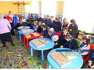 В Богучарской школе-интернате открылась детская комната для сирот