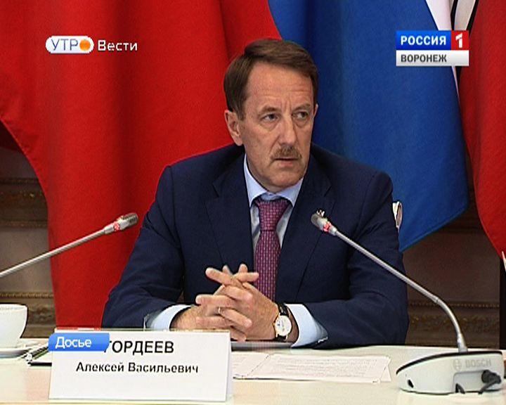В большой студии ГТРК «Воронеж» губернатор проведёт встречу с аналитиками ведущих СМИ региона