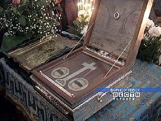 В Борисоглебск прибыли частицы мощей Елизаветы и Варвары
