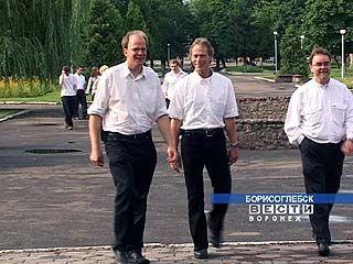 В Борисоглебск приехала немецкая делегация