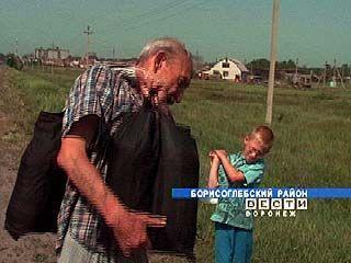 В Борисоглебске 100 семей  переселенцев остались без воды