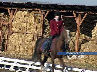 В Борисоглебске прошло первенство области по конному спорту среди детей