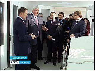 В Борисоглебске состоялось торжественное открытие акушерского корпуса