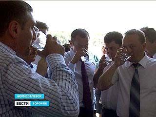 """В Борисоглебске запустили в эксплуатацию новый водозабор """"Ростань"""""""