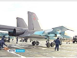 В Бутурлиновке военные лётчики приступили к тренировкам