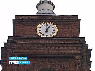 В Бутурлиновке восстановили старинные куранты
