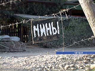В Чечне воронежские омоновцы обезвредили около 10-ти фугасов