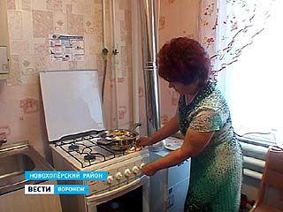 В домах жителей Новоперского и Грибановского района появились газовые плиты