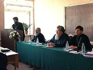 В духовной семинарии прошло заседание ученого совета